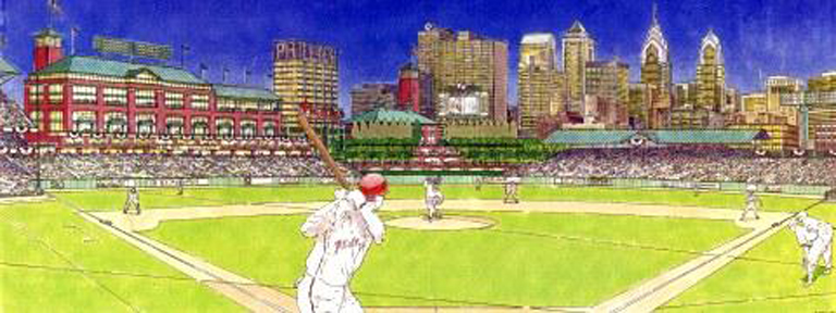 phillies stadium seats. Early Phillies Ballpark
