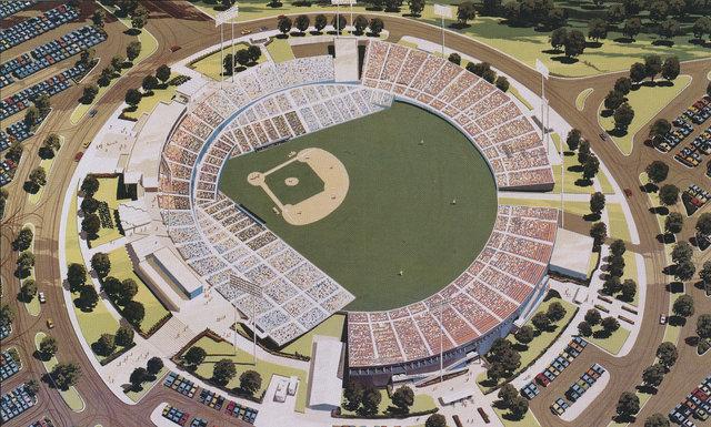 Texas Rangers Ballpark Renderings