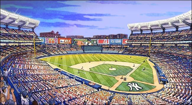 New York Yankees Ballpark Renderings