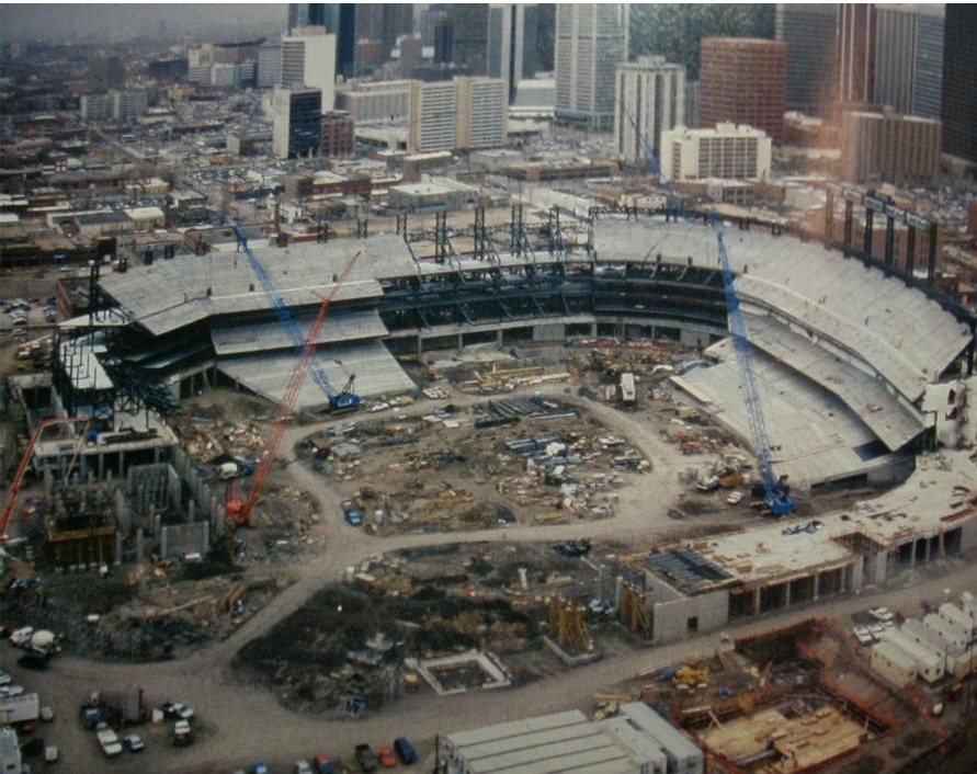 Colorado Rockies Ballpark Construction Pictures