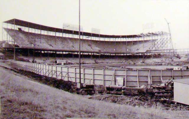 Ballpark Stadium Construction Photos Ballparks Of Baseball