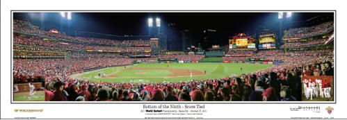 2011 Wold Seires - Bottom of the Ninth Panoramic Poster