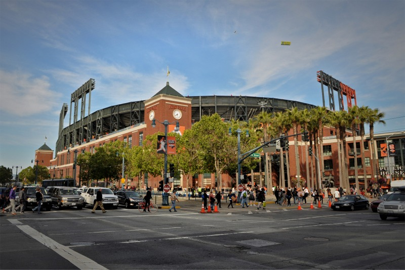 Los Angeles Parking Tickets >> AT&T Park, San Francisco Giants ballpark - Ballparks of ...