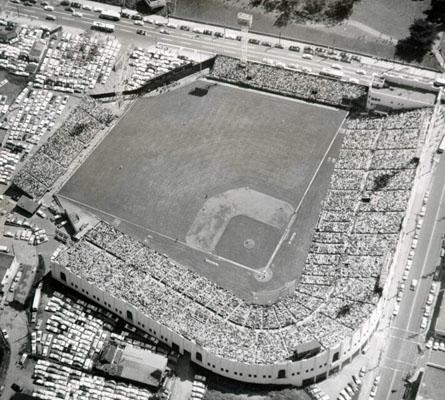 Stadium Aerial View Aerial of Seals Stadium