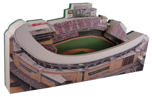Target Field Minnesota Twins 3D Ballpark Replica