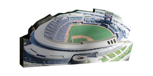 Kauffman Stadium Kansas City Royals 3D Ballpark Replica