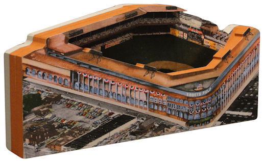 Ebbets Field Brooklyn Dodgers 3D Ballpark Replica