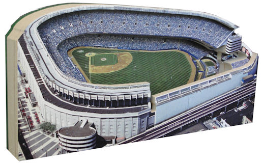 Old Yankee Stadium New York Yankees 3D Ballpark Replica