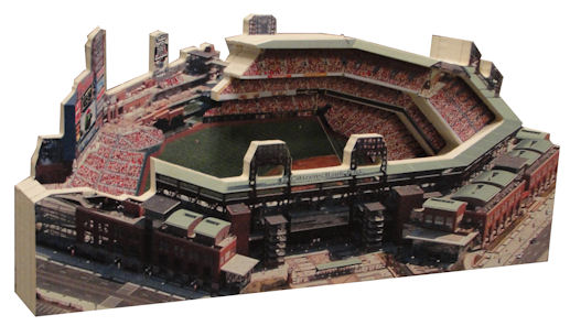 Citizens Bank Park Philadelphia Phillies 3D Ballpark Replica