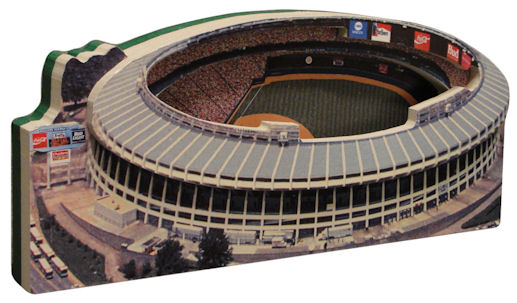 Atlanta Fulton County Stadium Atlanta Braves 3D Ballpark Replica