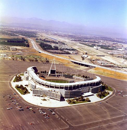 "Image result for ""anaheim stadium"" 1966"