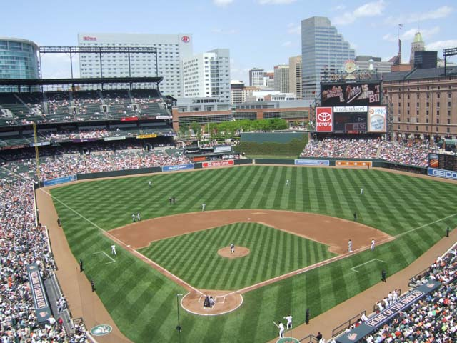 Oriole Park At Camden Yards Baltimore Orioles Ballpark Ballparks Of Baseball