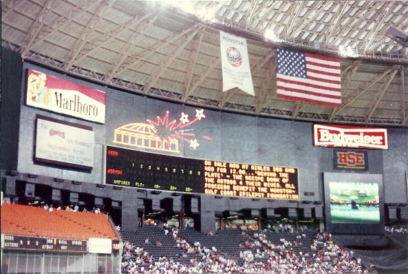 Astrodome history photos and more of the houston astros former astrodome pictures malvernweather Choice Image