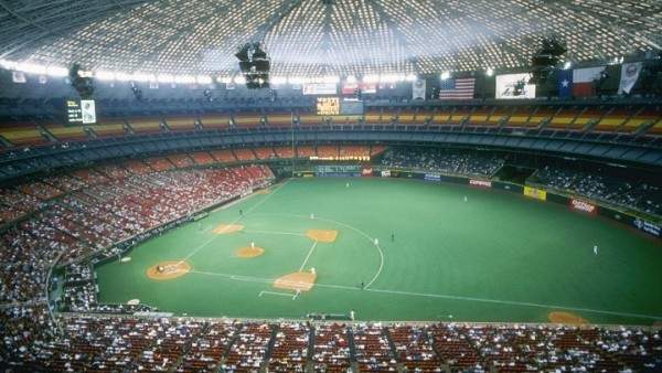 View of the Astrodome, former home of the Houston Astros