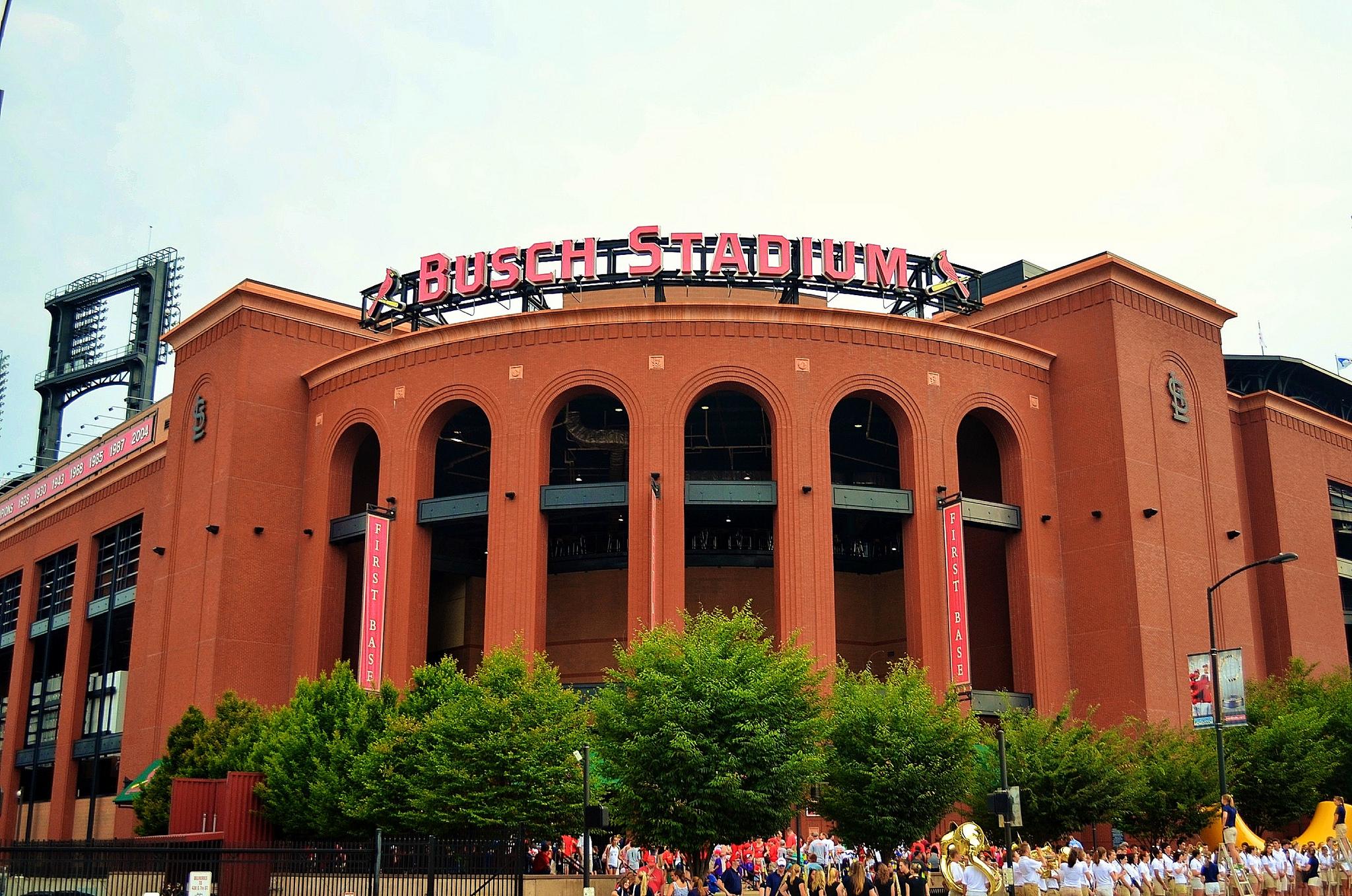 Busch Stadium St Louis Cardinals Ballpark Ballparks Of
