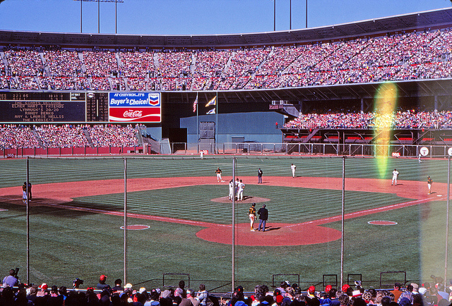 Candlestick Park History Photos And More Of The San