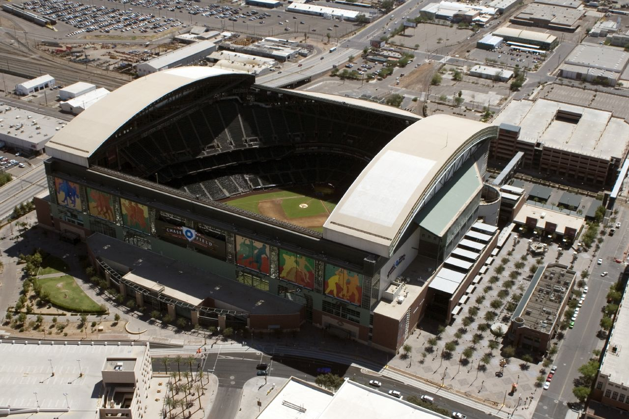 Chase Field Arizona Diamondbacks Ballpark Ballparks Of