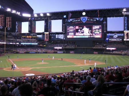 Chase Field, Arizona Diamondbacks ballpark - Ballparks of ... | 450 x 337 jpeg 40kB