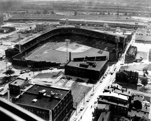 Crosley Field History Photos And More Of The Cincinnati