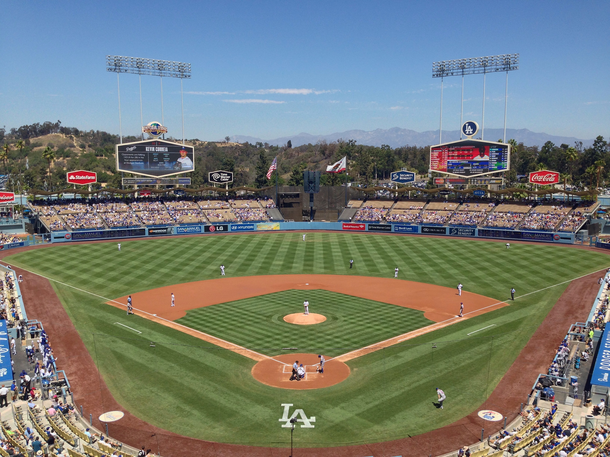 Dodger Stadium, Los Angeles Dodgers ballpark - Ballparks of Baseball