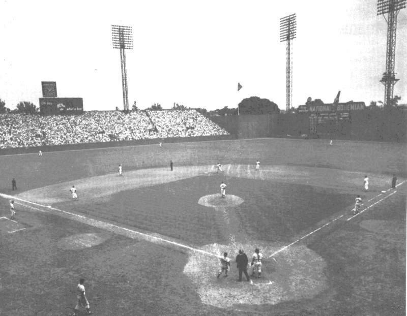 Griffith stadium history photos and more of the washington griffith stadium pictures malvernweather Image collections