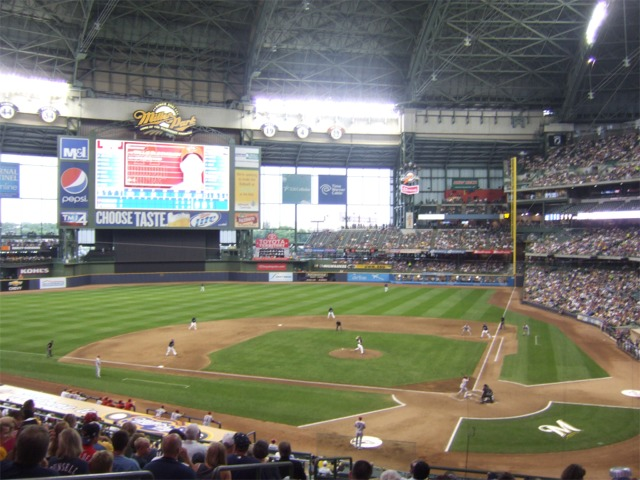 Miller Park Milwaukee Brewers Ballpark Ballparks Of