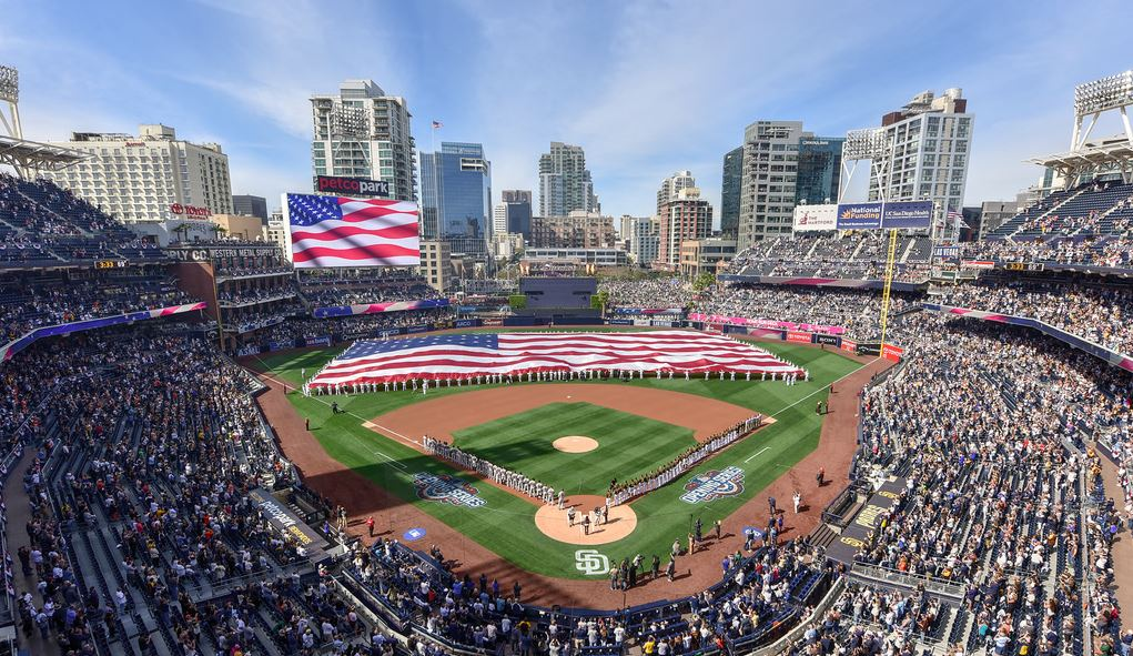 View from the upper deck at Petco Park - home of the San Diego Padres - Picture: Mark Whitt