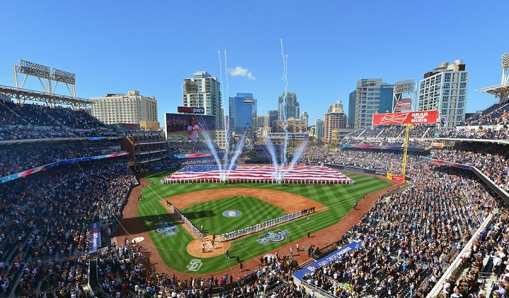 View from the upper deck at Petco Park - Picture: Mark Whitt