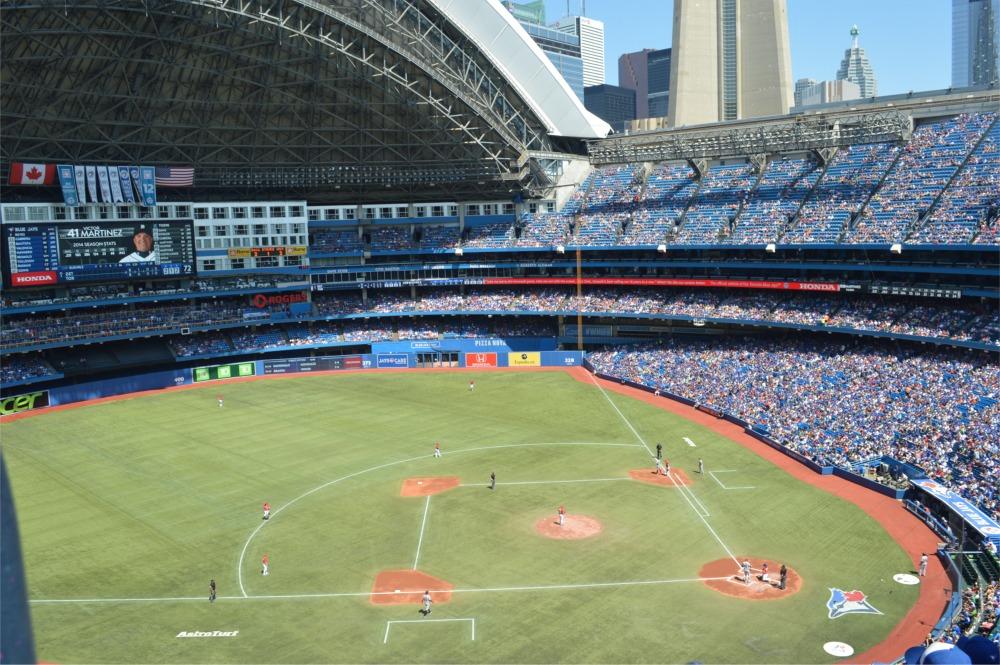 Rogers Centre, Toronto Blue Jays ballpark - Ballparks of ...