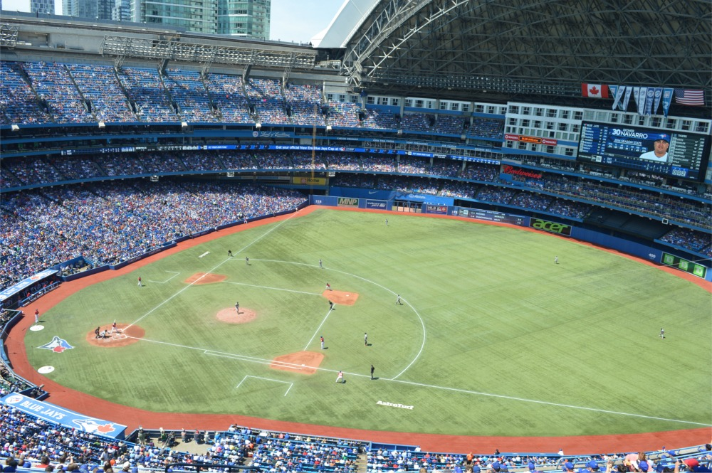 Rogers Centre Toronto Blue Jays Ballpark Ballparks Of Baseball - Blue jays seating chart