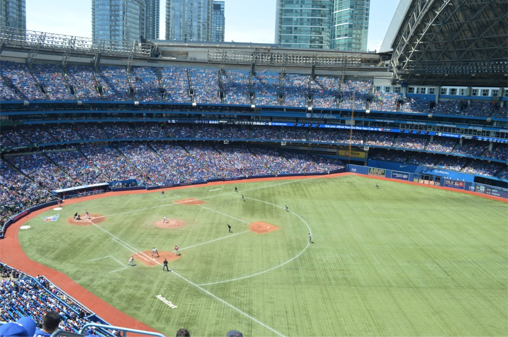 Rogers Centre Toronto Blue Jays Ballpark Ballparks Of