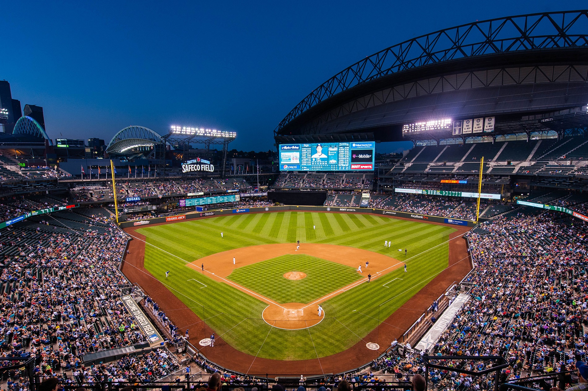 Safeco Field Seattle Mariners Ballpark Ballparks Of