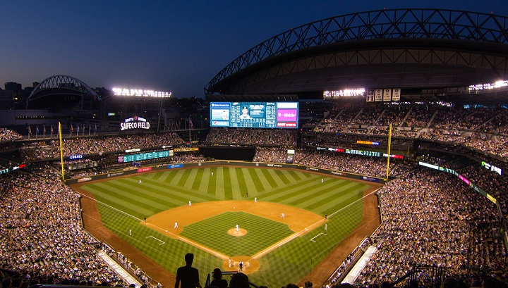 View from the upper deck at Safeco Field