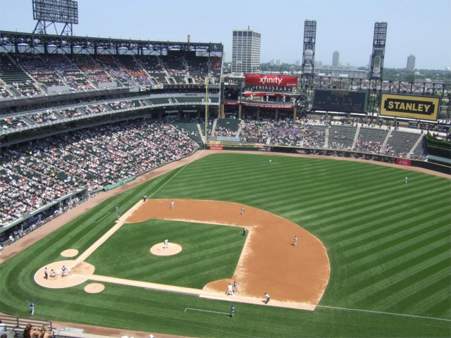 Guaranteed Rate Field Chicago White Sox Ballpark Ballparks Of - Us cellular field seating map
