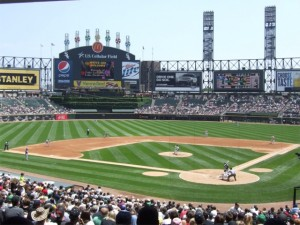 View from the lower deck at US Cellular Field