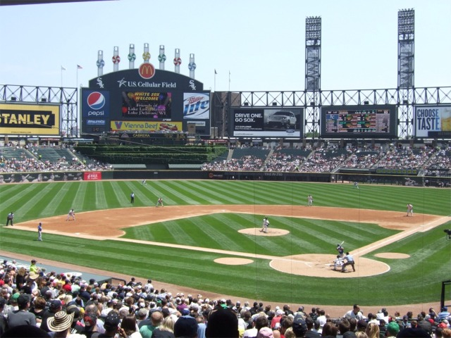 Guaranteed Rate Field Chicago White Sox Ballpark Ballparks Of - Us cellular field view from seat