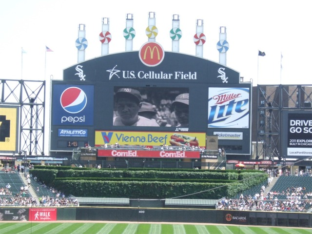 Guaranteed Rate Field Chicago White Sox Ballpark Ballparks Of - Us cellula r field inside map