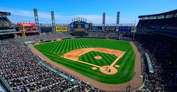 View from the upper deck at US Cellular Field - Picture: Mark Whitt