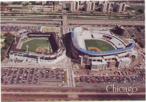 Guaranteed Rate Field Chicago White Sox Ballpark Ballparks Of - Us cellular field map