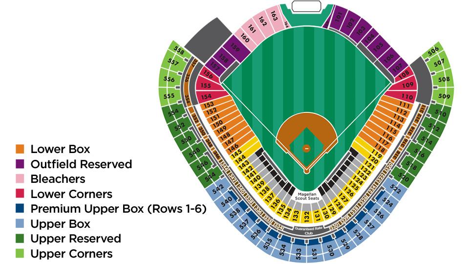 Guaranteed Rate Field Chicago White Sox Ballpark Ballparks Of Baseball