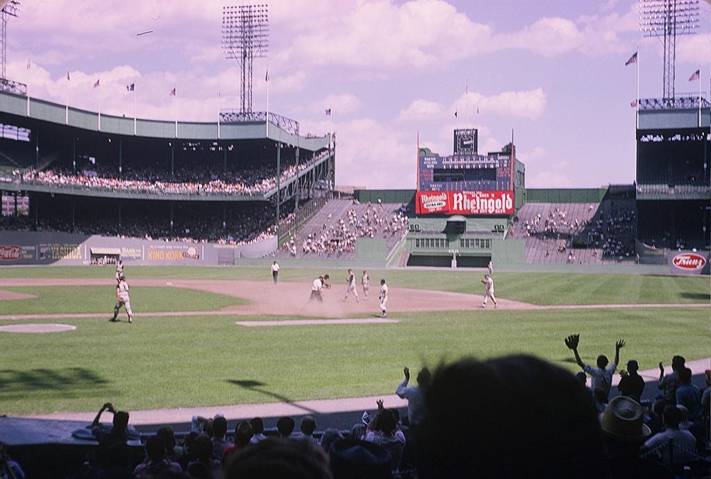 Image result for 1946 Polo Grounds baseball photos
