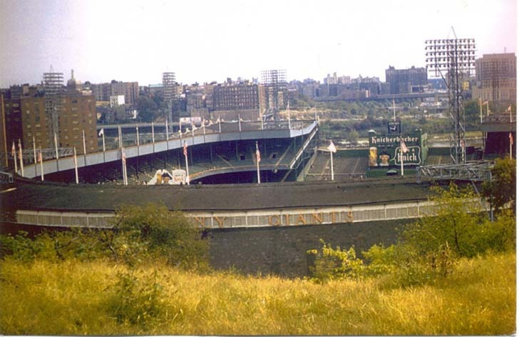 polo grounds history photos and more of the new york giants