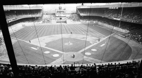 View of Polo Grounds, former home of the New York Giants