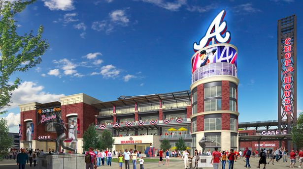 SunTrust Park - pictures, information and more of the ...
