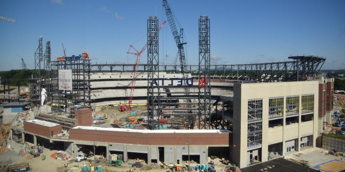 SunTrust Park Canopy Will Be Stadiums Signature Feature