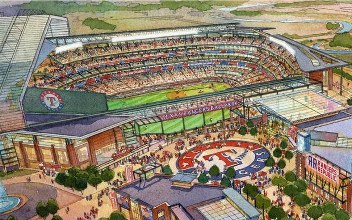 Globe Life And Accident Insurance >> Globe Life Field - pictures, information and more of the future Texas Rangers ballpark