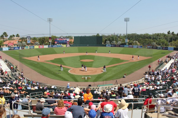 Bill Hammond Stadium, Spring Training home of the Minnesota Twins