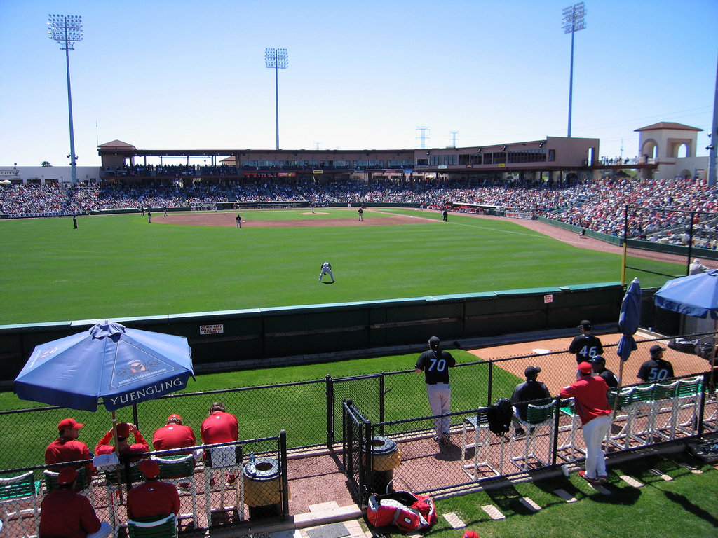 Bright House Field, spring training home of the Philadelphia Phillies