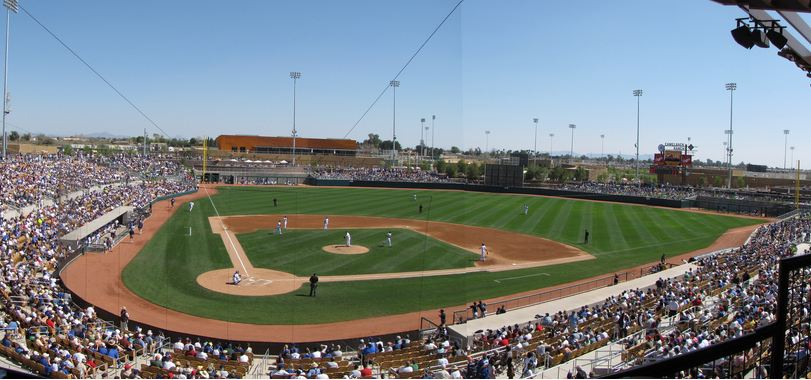 Camelback Ranch, Spring Training home of the Los Angeles Dodgers and Chicago White Sox