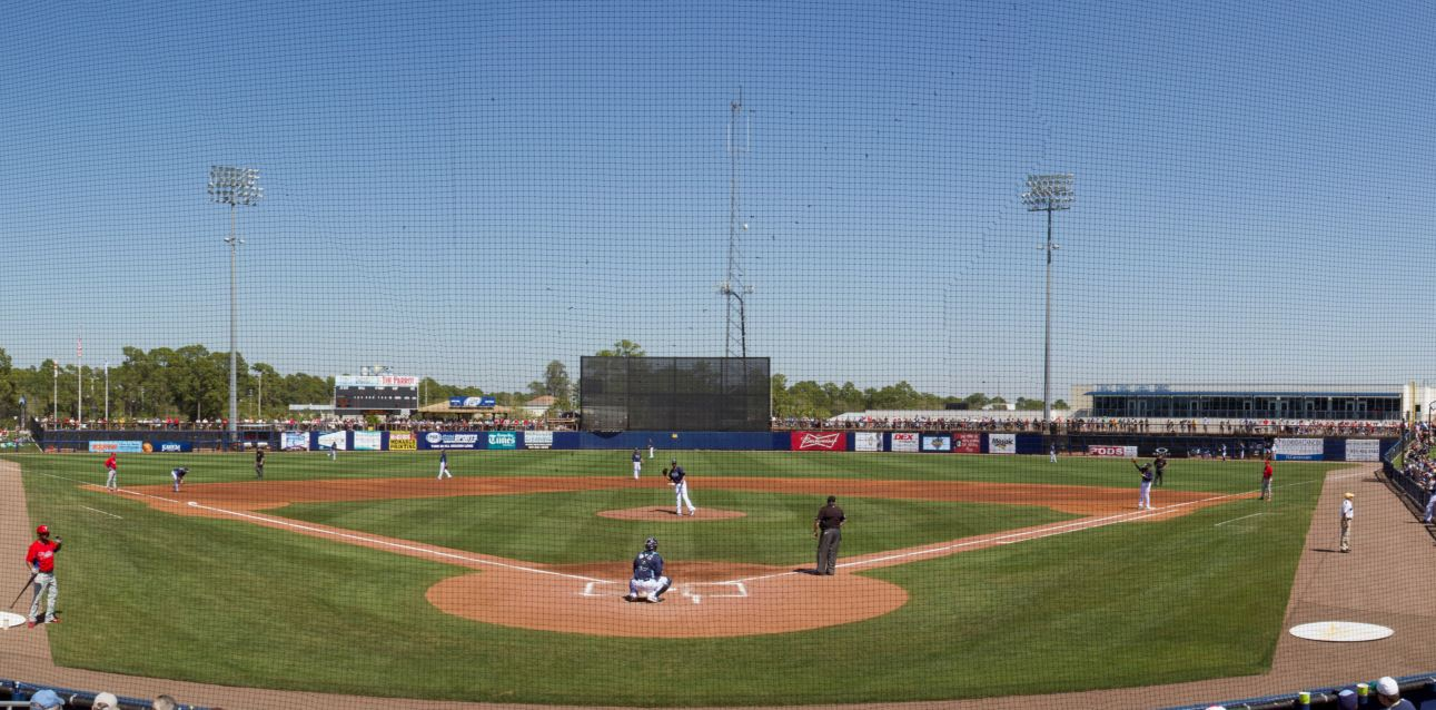 Charlotte Sports Park - Spring Training home of the Tampa Bay Rays
